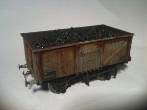 Bachmann Mineral Wagon weathered with Rust effect