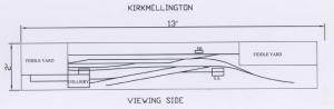 Kirkmellington Track Plan copyright Tony Bucknell 2013