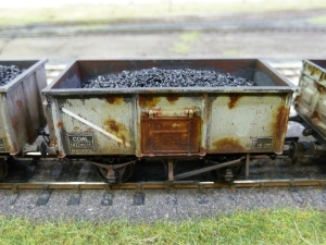 Weathered 16T mineral wagon