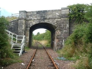 The real thing, a bridge in Ayrshire