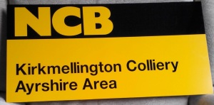 Layout colliery sign
