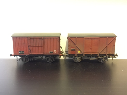 Weathering wagons | Kirkmellington - a journey into EM